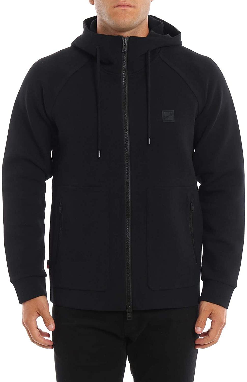 Woolrich Luxury Fashion Man WOFEL1182UT1754100 Black Cotton Sweatshirt | Fall Winter 19