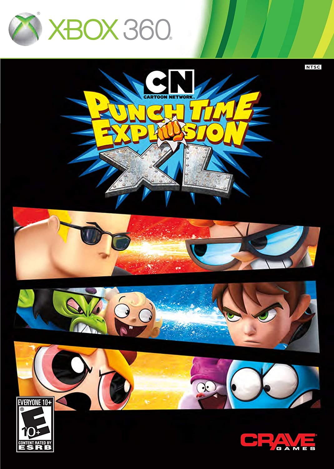Cartoon Network: Punch Time Explosion XL - Xbox 360 (Renewed)
