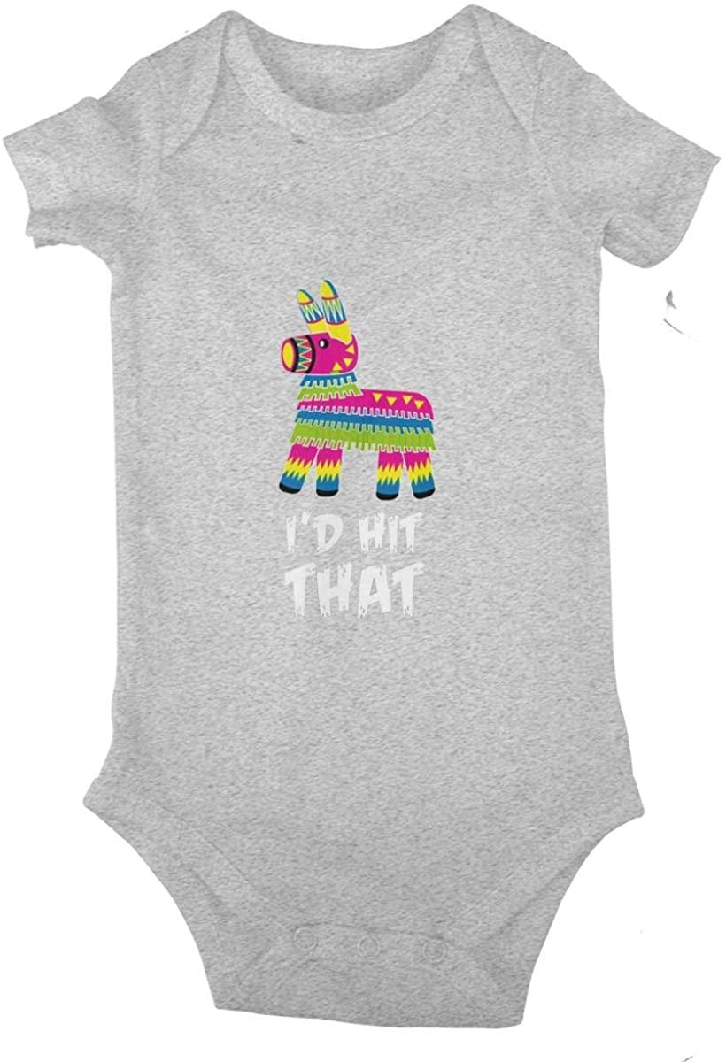 PARKNOTES I'd Hit That Bodysuits 0-24 Months Infant Baby Sport Jersey Bodysuit
