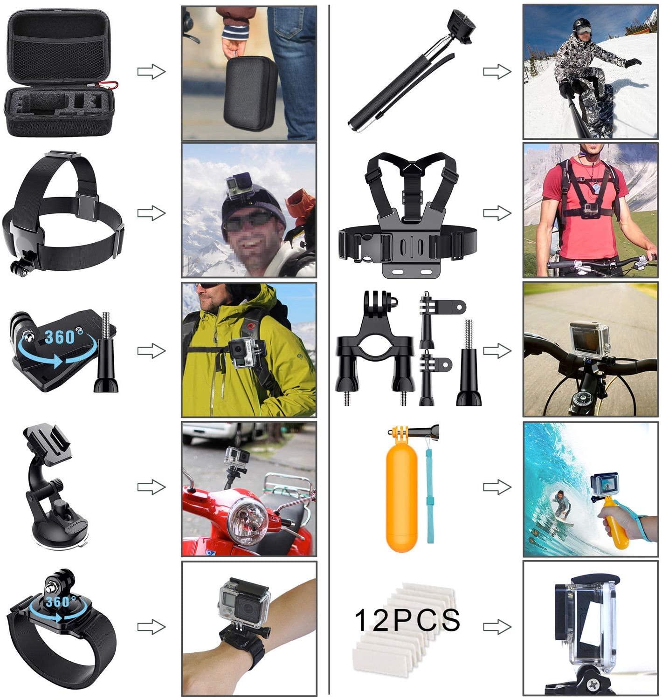 Accessories Hero 6 5 4 3 2 1 Bundle Camera Outdoor Sports Set Kit(58 in 1)