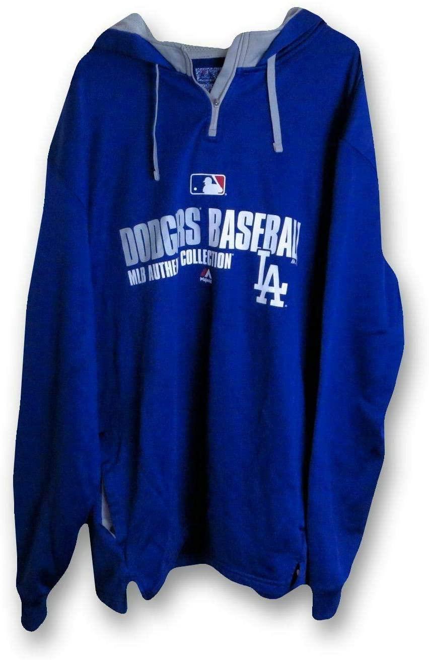 Scott Elbert 2014 Player Worn LA Dodger Hoodie Sweatshirt MLB HZ844107 - Other Game Used MLB Items