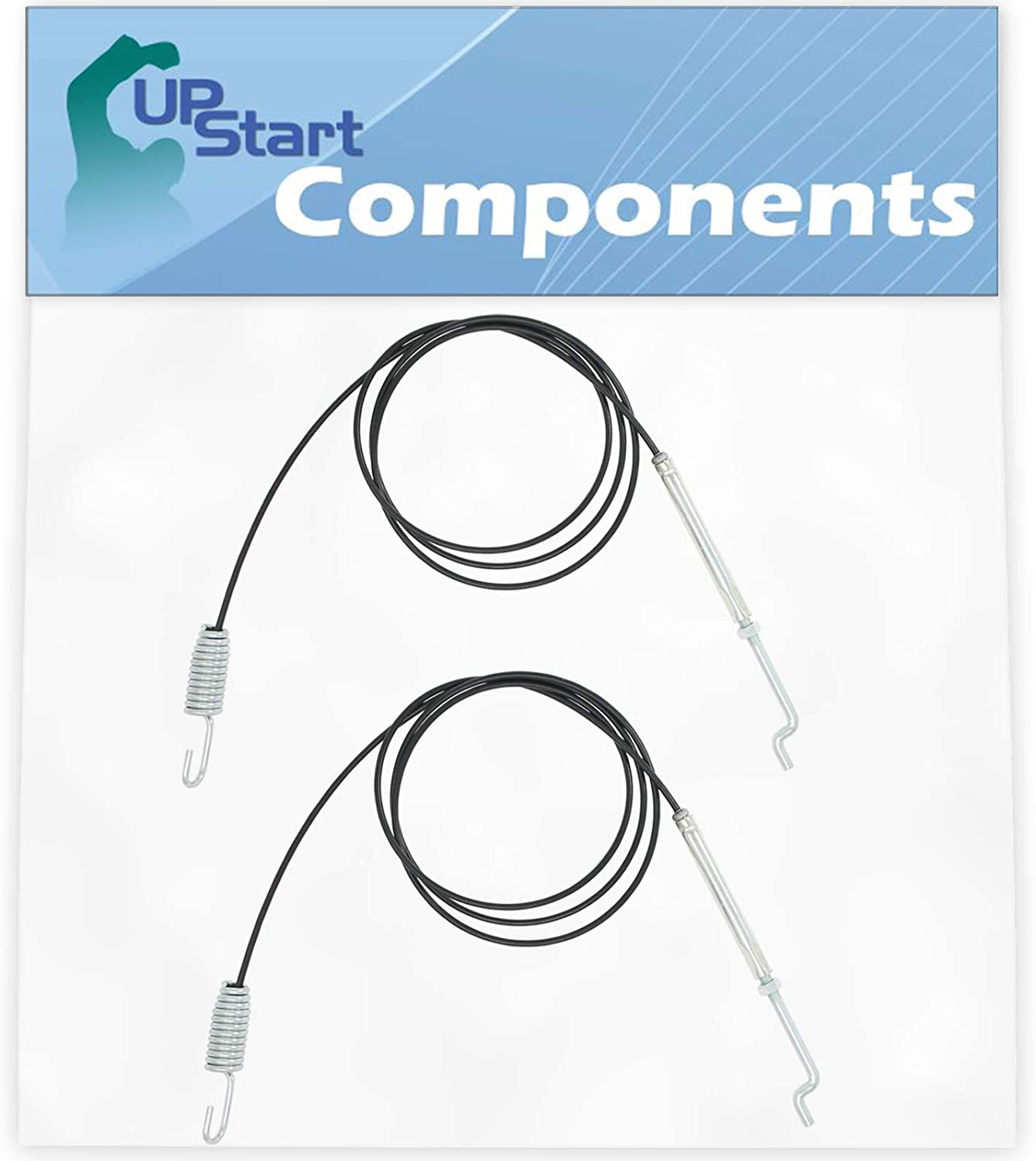 UpStart Components 2-Pack 746-0897 Auger Clutch Cable Replacement for Yard Man 316E753F401 (1996) Snowblower - Compatible with 946-0897 Auger Cable