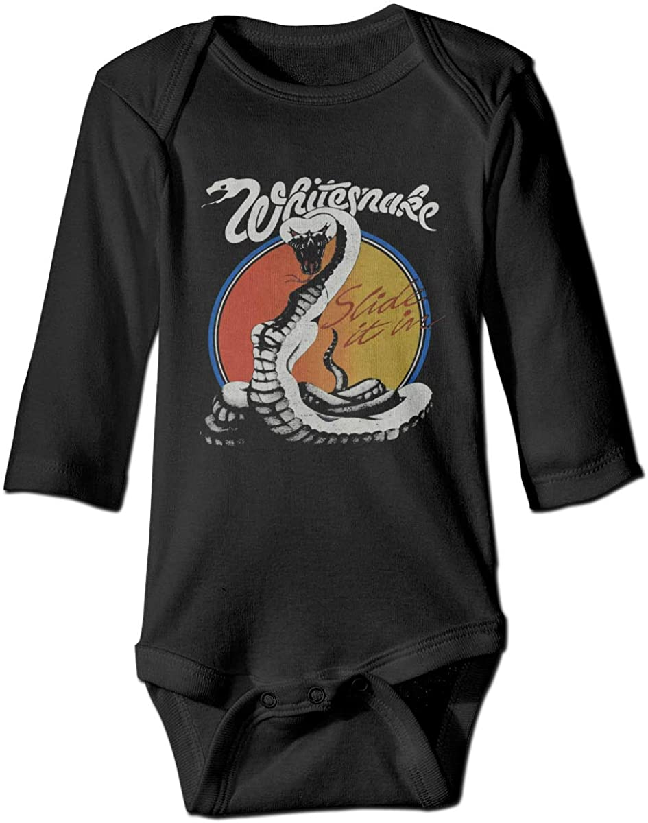 Winodfrw Whitesnake Slide It in Tour Concert Bodysuit Baby Jersey