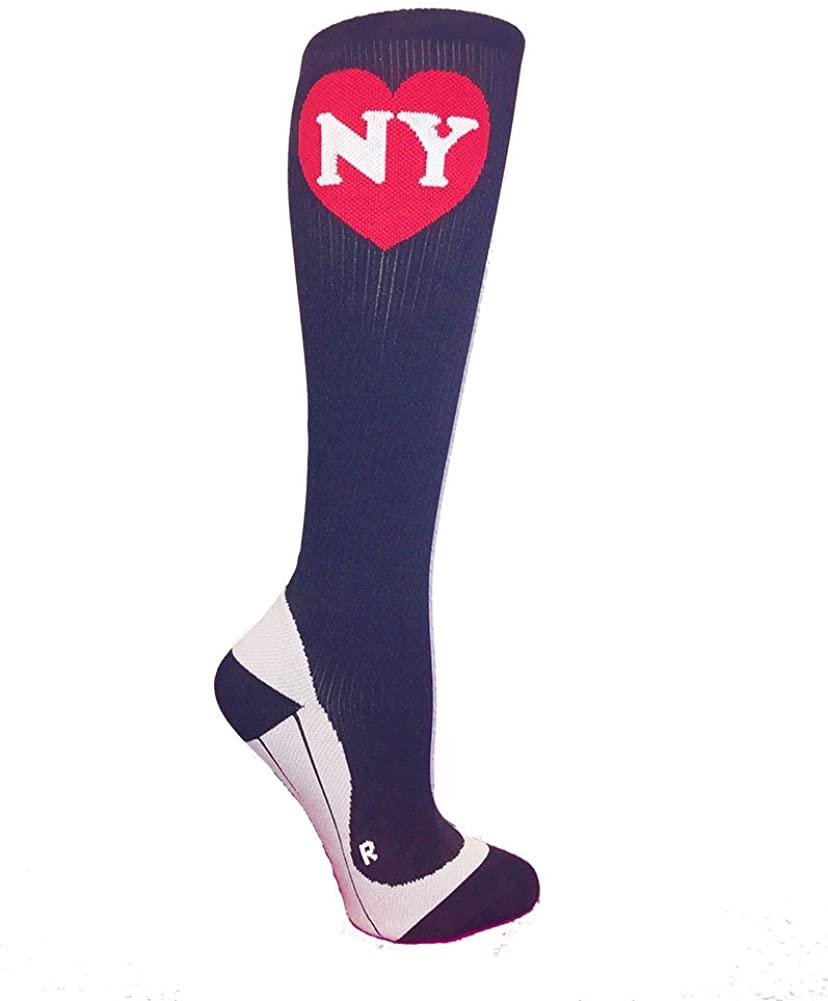 Runderlust NY Love Compression Socks