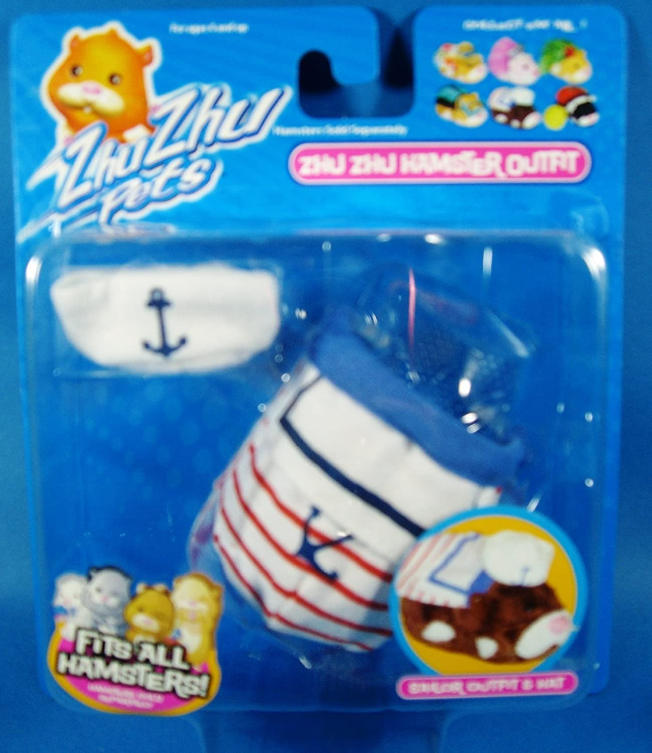 Zhu Zhu Pets Hamster Outfit Sailor Hamster NOT Included!