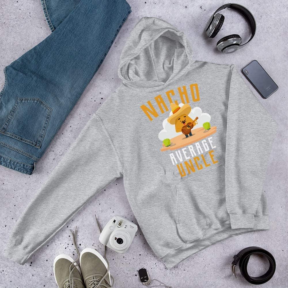 Nacho Average Uncle Unisex Hoodie Sport Grey