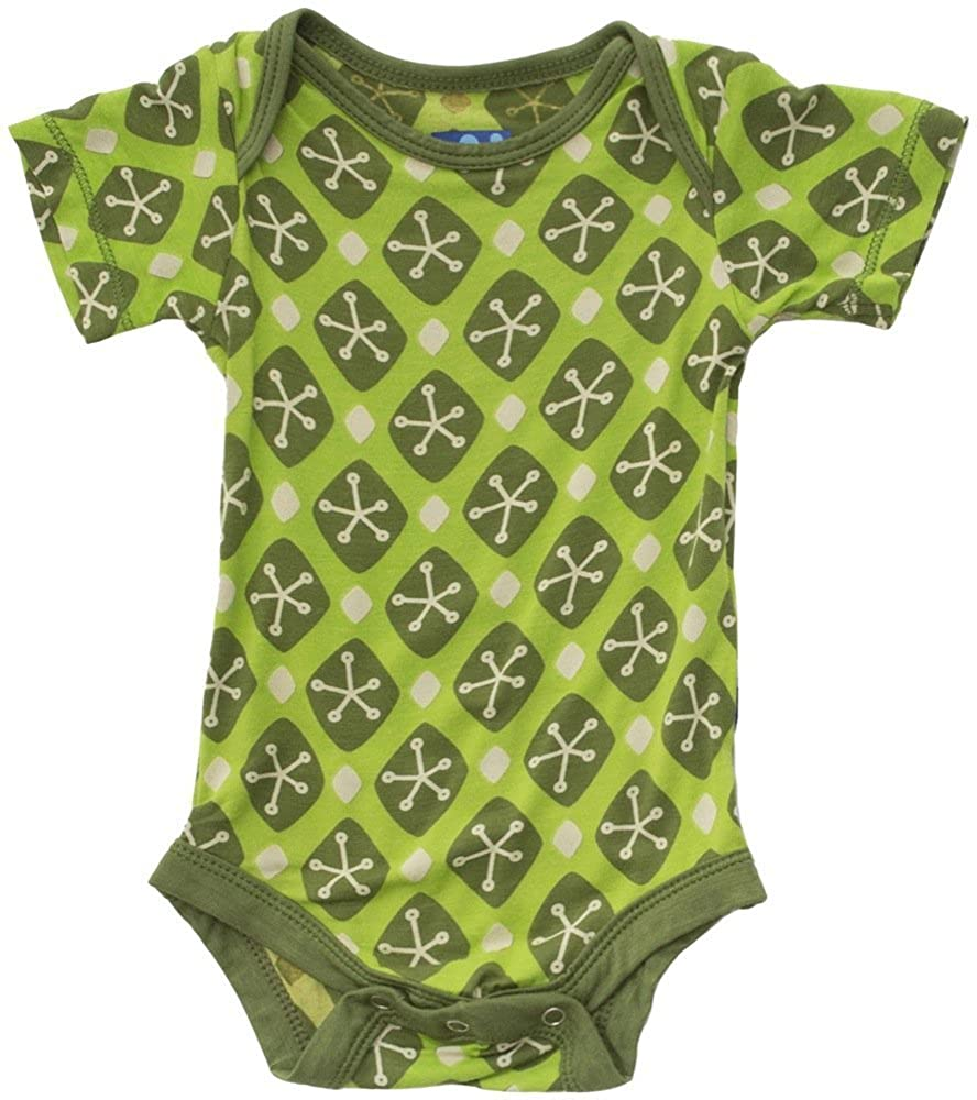Kickee Pants Baby Infant Print Short Sleeve One-Piece
