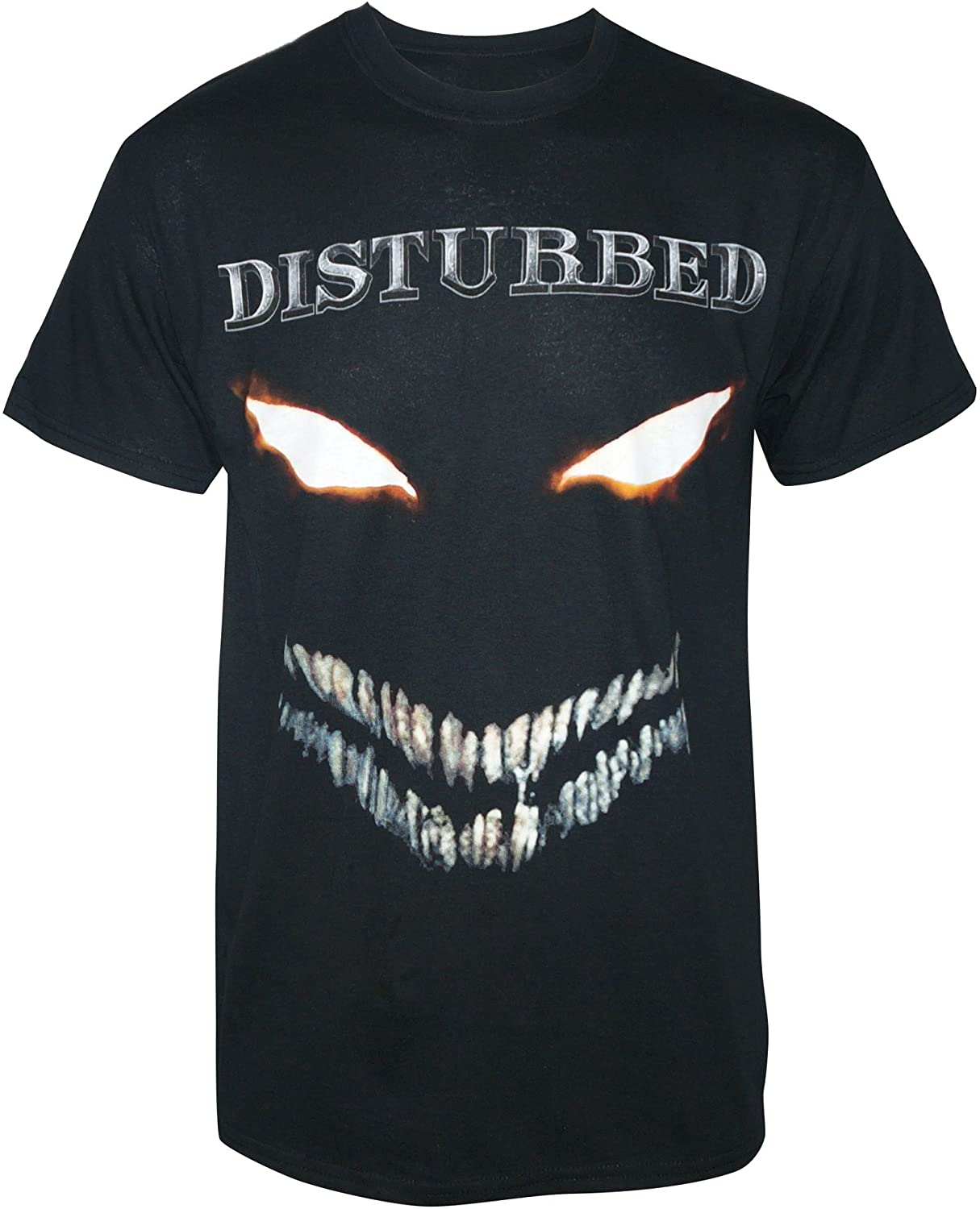 MERCH TRAFFIC Disturbed Men's Scary Face Full Color T-Shirt Black