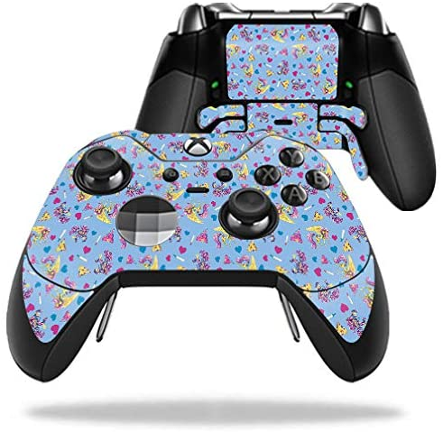 MightySkins Skin Compatible with Microsoft Xbox One Elite Controller - Castle Unicorns | Protective, Durable, and Unique Vinyl wrap Cover | Easy to Apply, Remove, and Change Styles | Made in The USA