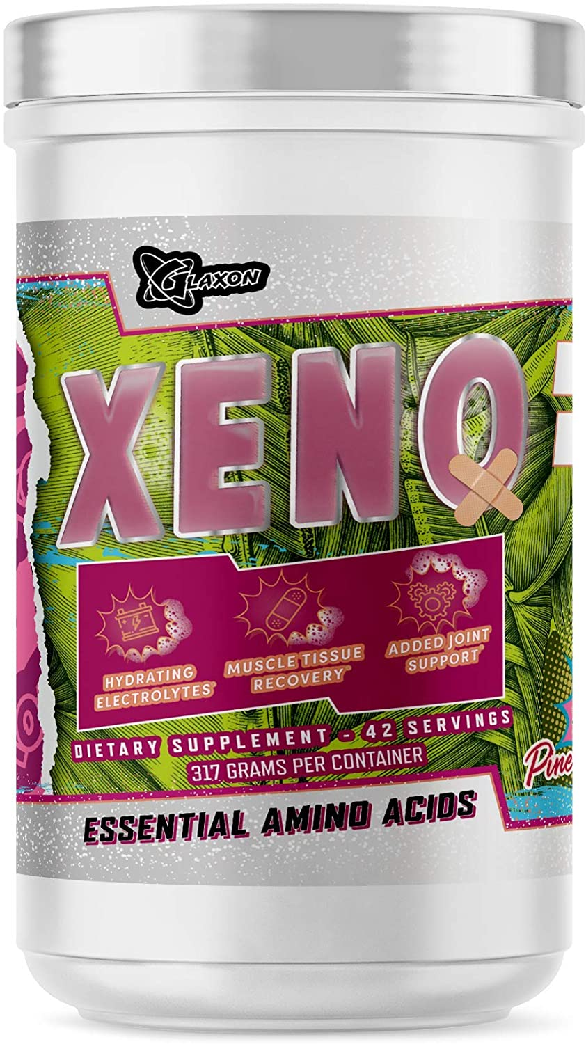 Glaxon Xeno Peach Godis Flavor, Essential Amino Acid Supplement, BCAA, Taurine, Electrolytes