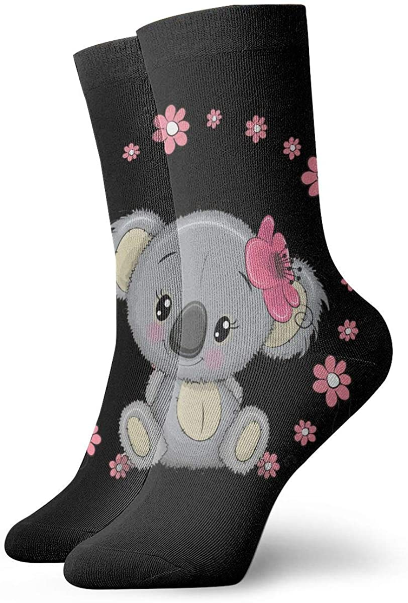 Koala Short Crew Socks Dress Socks Athletic Socks