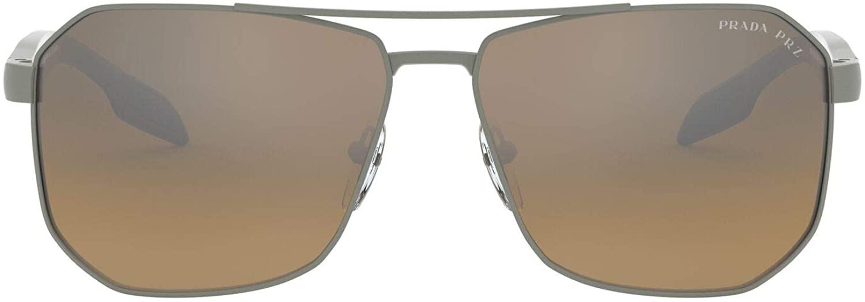 Sunglasses Prada Linea Rossa PS 51 VS DG1741 Gunmetal Rubber