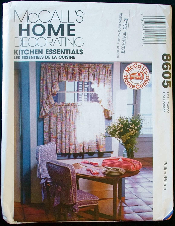 McCalls 8605 Kitchen Essentials Pattern supply:jen7805