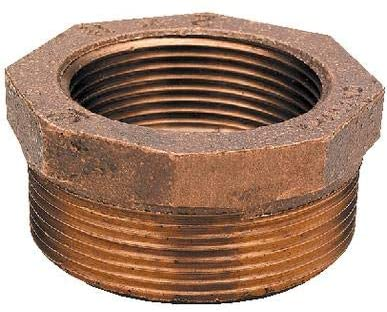 Midland Metals 44524 Bushing 1-1 2 X 1-1 4 Brz Hex Bushing