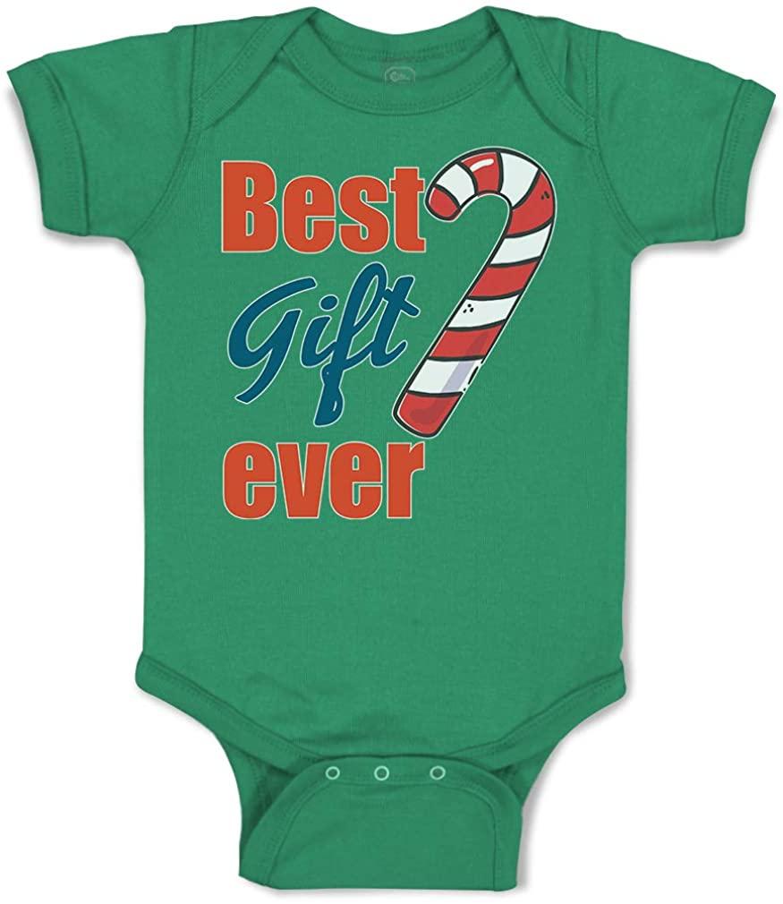 Custom Baby Bodysuit Christmas Candy Canes Boy & Girl Clothes