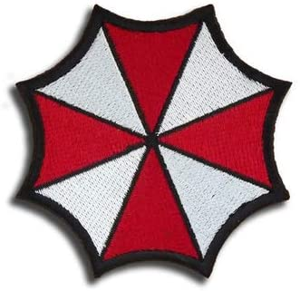 Resident Evil Umbrella Embroidery Patch Military Tactical Morale Patch Badges Emblem Applique Hook Patches for Clothes Backpack Accessories