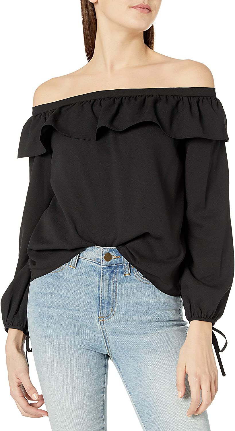 Cooper & Ella Women's Leticia Off The Shoulder Blouse