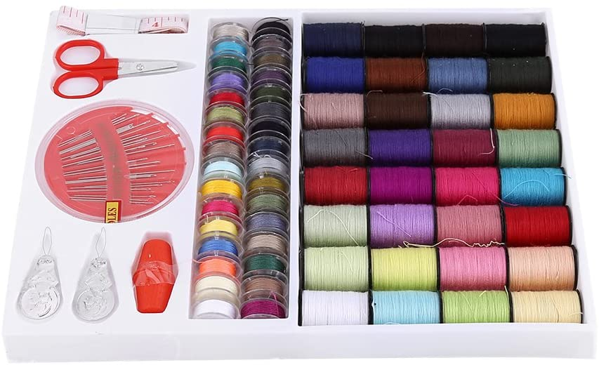 Plyisty Sewing Set, Sewing Kit, Portable for Sewing Decoration Crafts