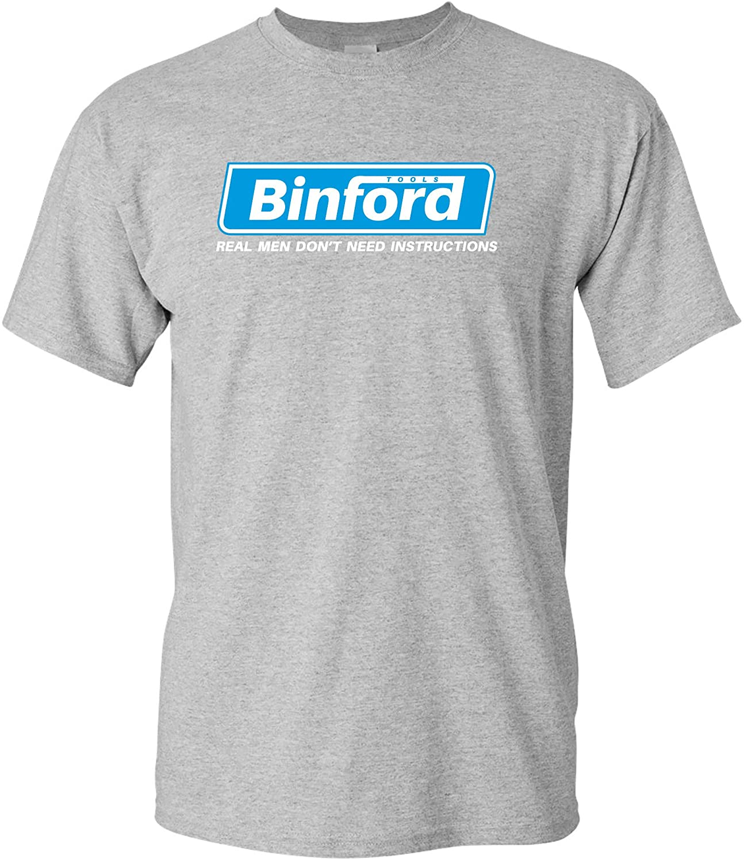 UGP Campus Apparel Binford Tools - Funny TV Show Handyman Dad T Shirt
