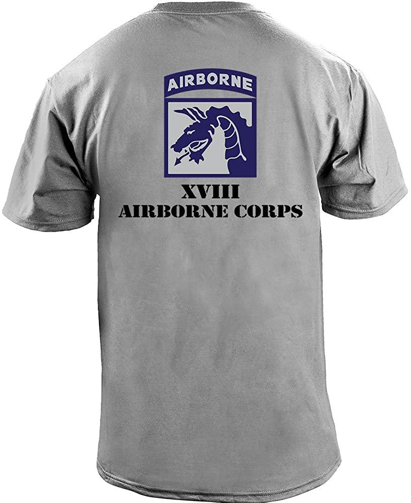 USAMM Army XVIII Airborne Corps Full Color Veteran T-Shirt