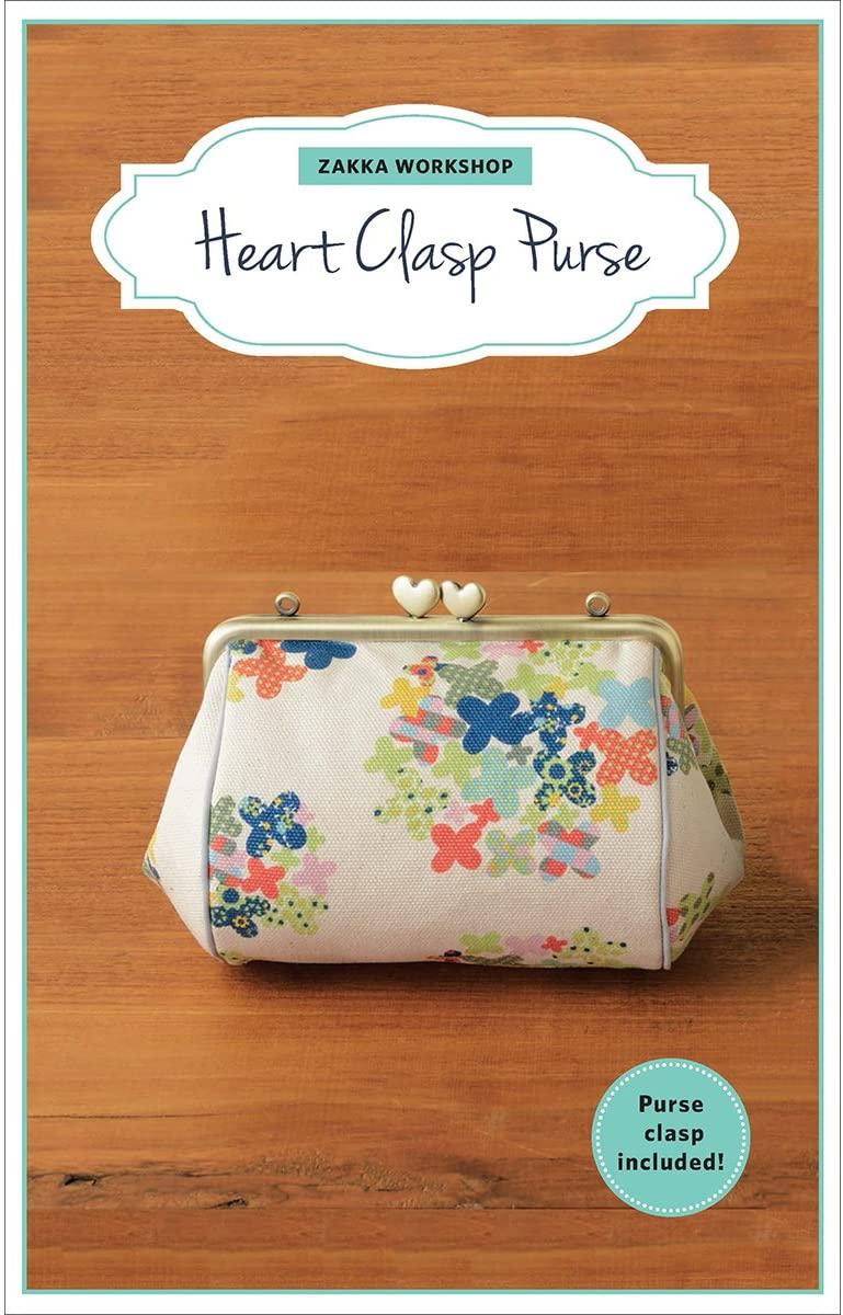 Heart Clasp Purse Kit-