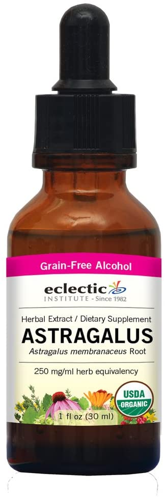 Eclectic Astragalus O, Red, 1 Fluid Ounce
