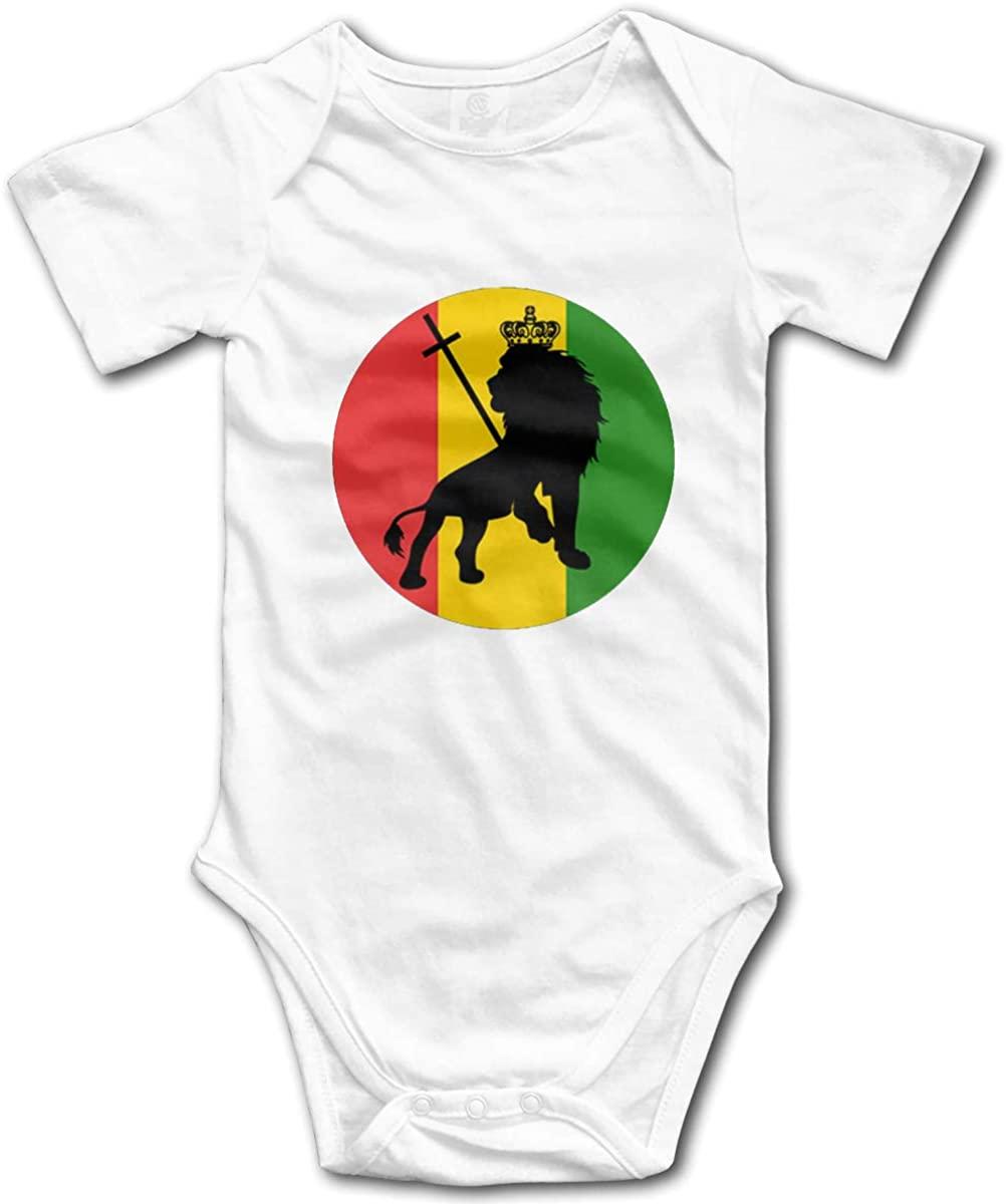 AP.Room Ja Rastafari Logo Baby Bodysuit Blink Climbing Clothes White 18 Months