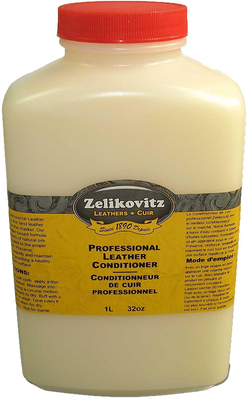 Zelikovitz Professional Leather Conditioner 32oz Bottle