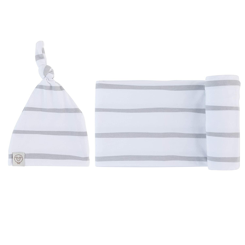 Adrienne Vittadini Bambini Jersey Cotton Spandex Swaddle Blankets 40