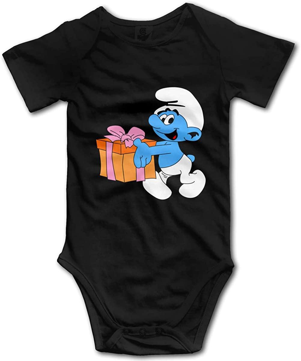LADOLADO Popular Cartoon Smurf Gift Baby Onesie Baby Clothes