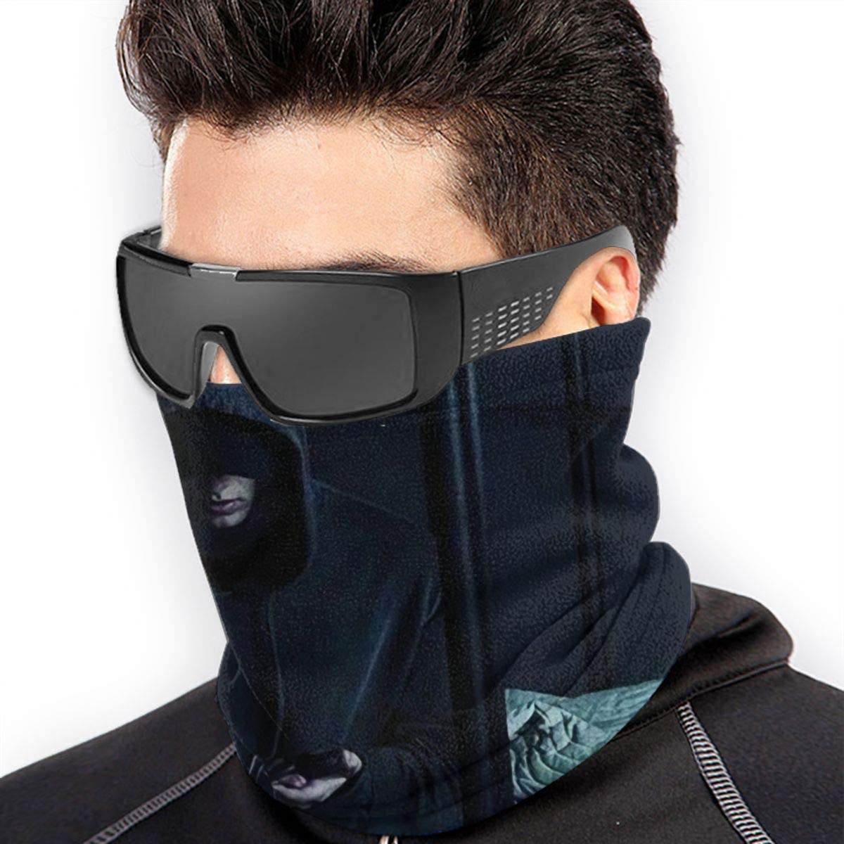 Nathan John Feuerostein Thin section riding UV protection sunscreen washcloth autumn and winter wild neck scarf
