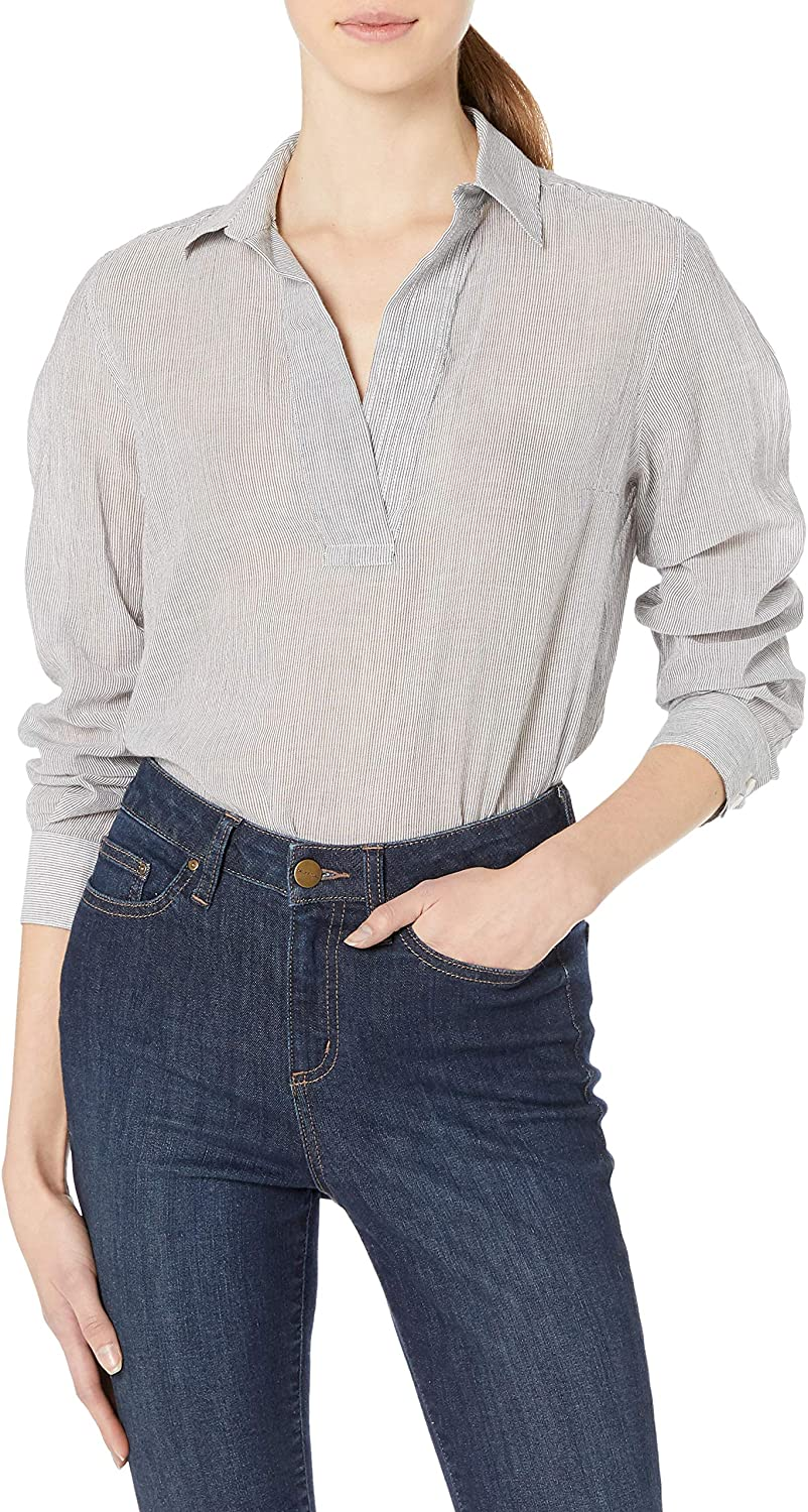 French Connection Women's Stamos Stripe Shirt`
