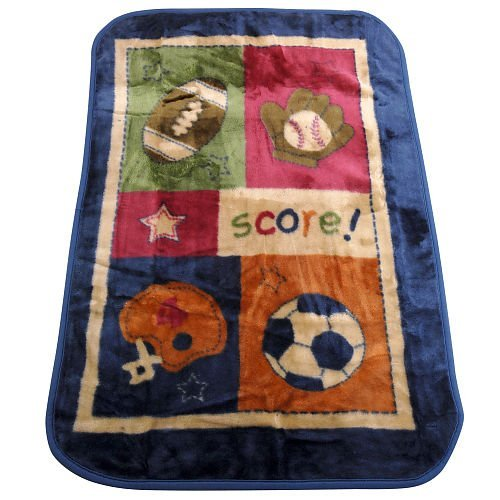 NoJo My Little MVP Luxury Plush Throw Blanket