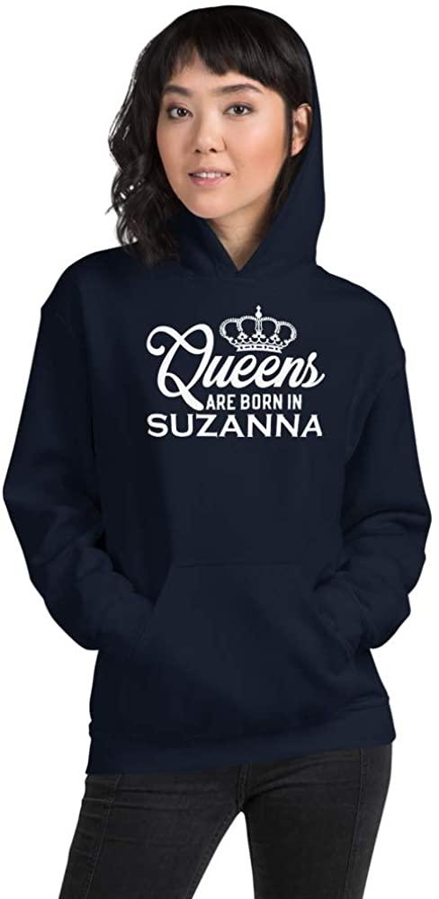 Queens are Born in Suzanna PF Navy