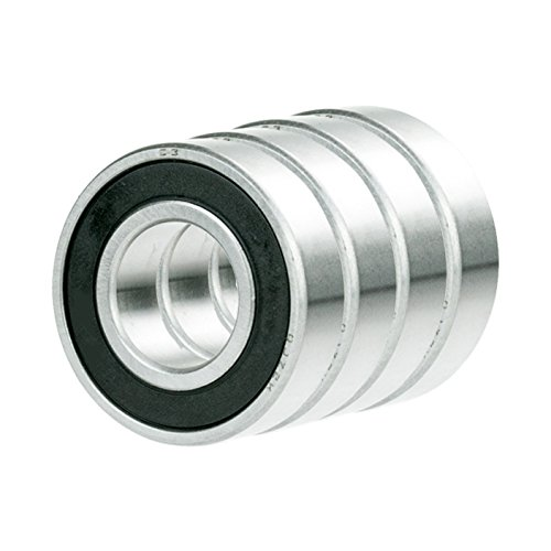4 x 6313-2RS Ball Bearing 65mm x 140mm x 33mm Rubber Seal Premium RS 2RS NEW