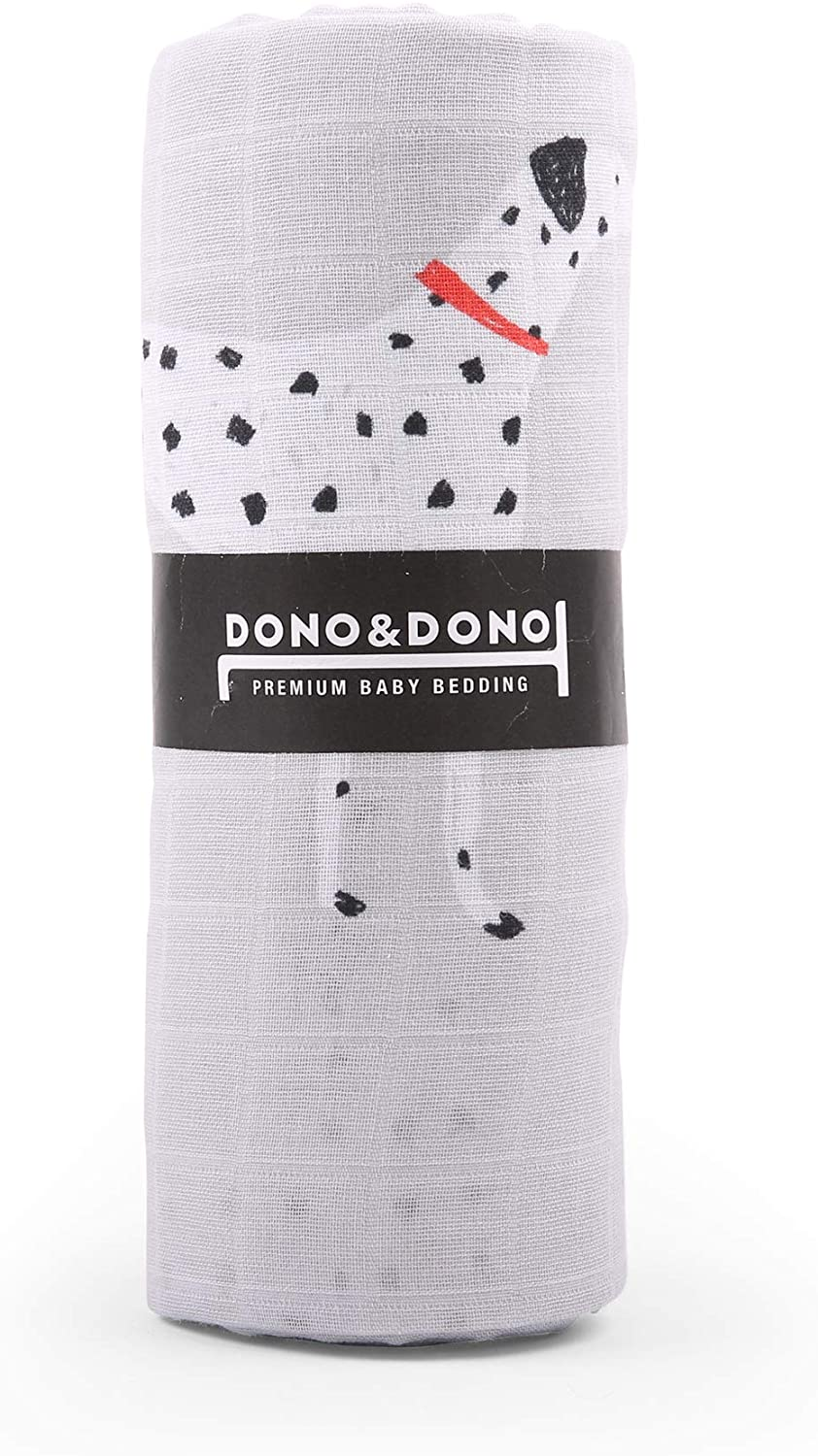 Dono&Dono Ultimate Muslin Baby Blanket (French Dingo)