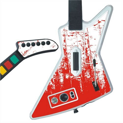MYMYBOX Xbox 360 Guitar Hero X-plorer Skins - Scratch