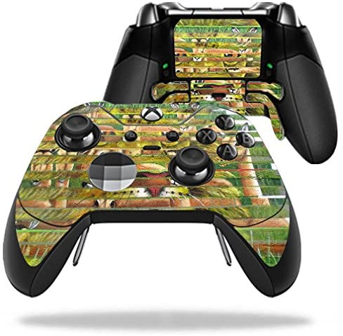 MightySkins Skin Compatible with Microsoft Xbox One Elite Controller - Hunter and Prey | Protective, Durable, and Unique Vinyl wrap Cover | Easy to Apply, Remove, and Change Styles | Made in The USA