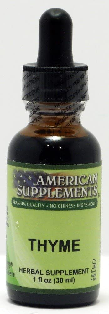 Thyme American Supplements 1 oz Liquid