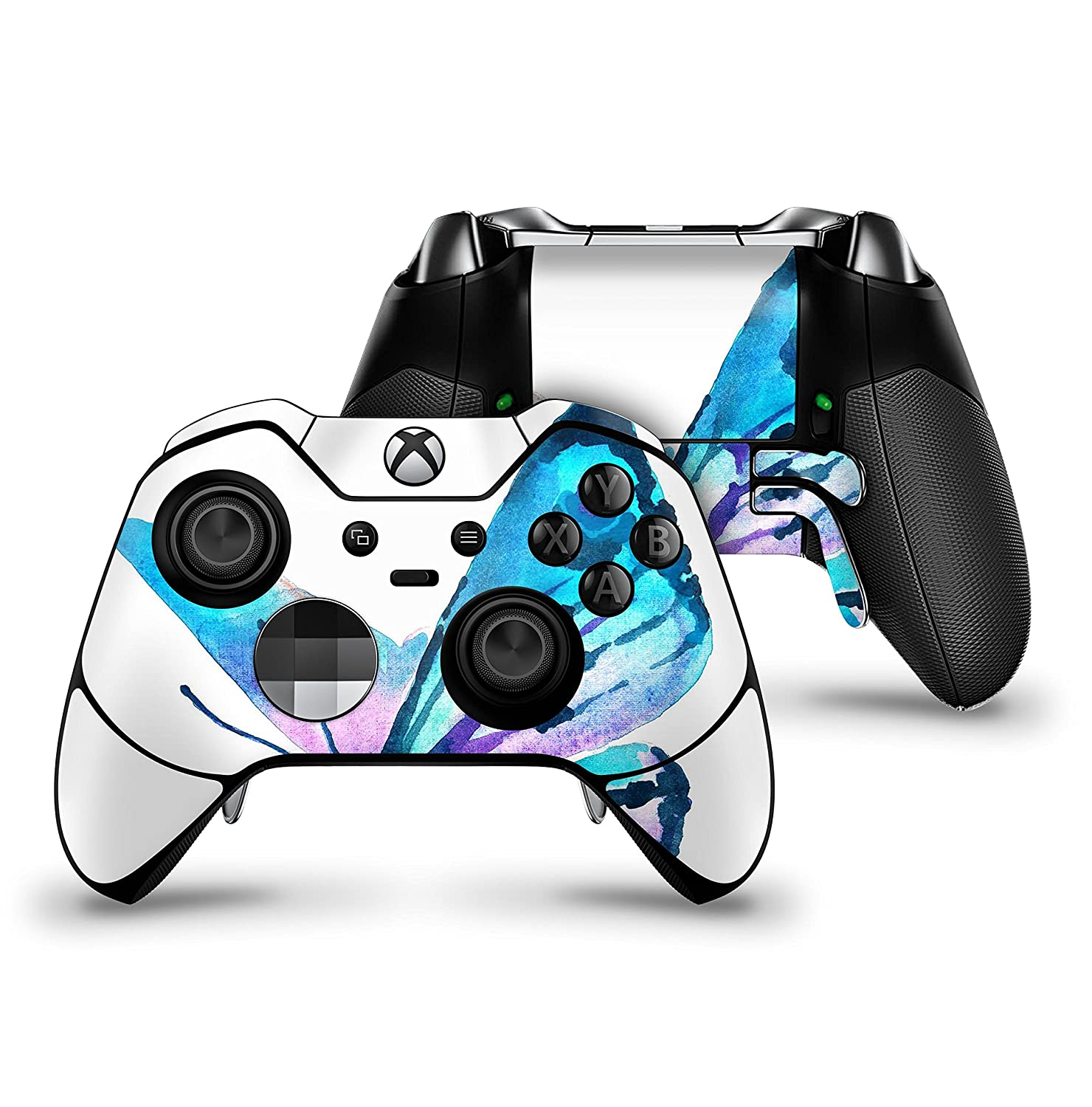 Bright Graceful Butterfly - Protective Vinyl DesignSkinz Decal Sticker Skin-Kit for the Microsoft Xbox ONE Elite Controller