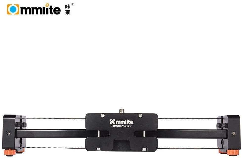Commlite ComStar CS-V370 37cm Video Track Slider Video Stabilizer 50cm Sliding