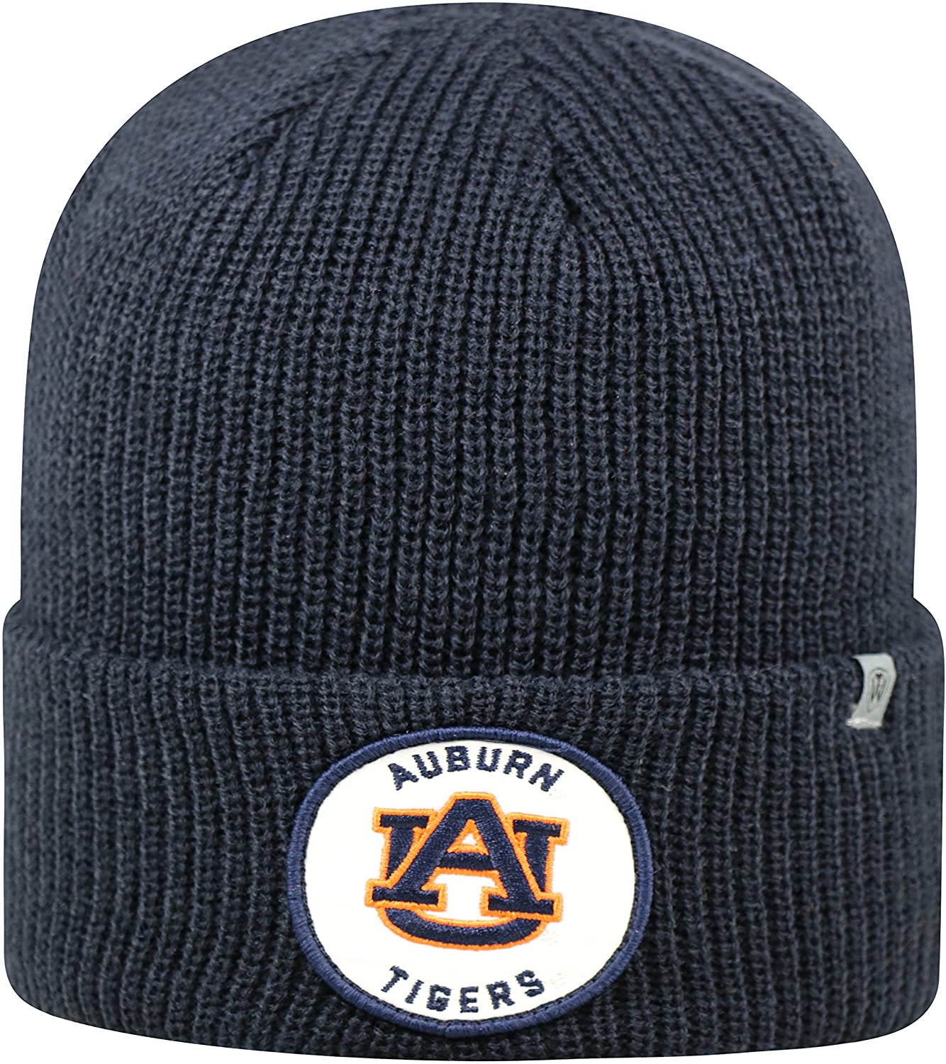 Top of the World Auburn Tigers Official NCAA Cuffed Knit Wharf Beanie Stocking Stretch Sock Hat Cap 843926
