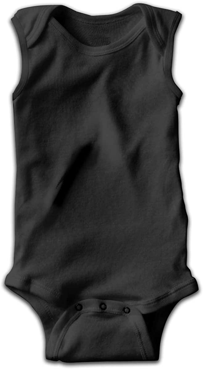 Black Lacrosse Unisex Baby Bodysuit Infant Cotton Outfits Rompers