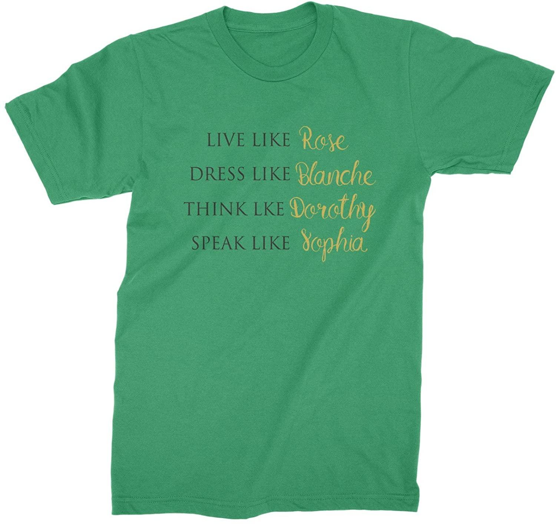 Golden Girls Live Like Rose Dress Like Blanche Shirt Shirt