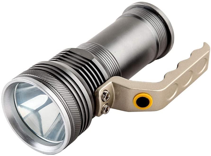 HW-XK Aluminum Light Flashlight,rechargeable Super Bright Multi-function Long-range Waterproof Portable Search Flashlight,Work Light Rechargeable LED Flashligt Lantern Inspection Lamp Camping Light ,t