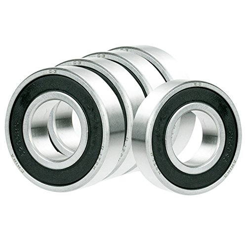 5X 6809-2RS Ball Bearing 45mm x 58mm x 7mm Rubber Seal Premium RS 2RS Shielded