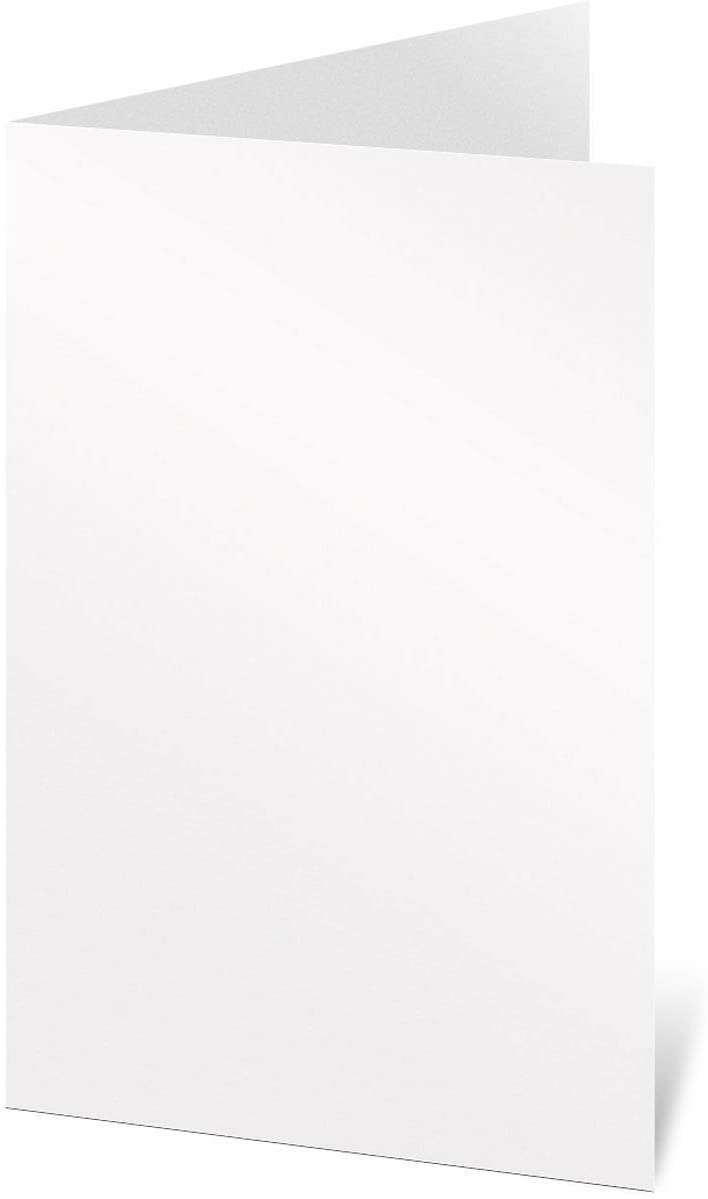 PaperDirect White Perfectly Plain Programs, 28lb Stock, 5 1/2 x 8 1/2, Pack of 50