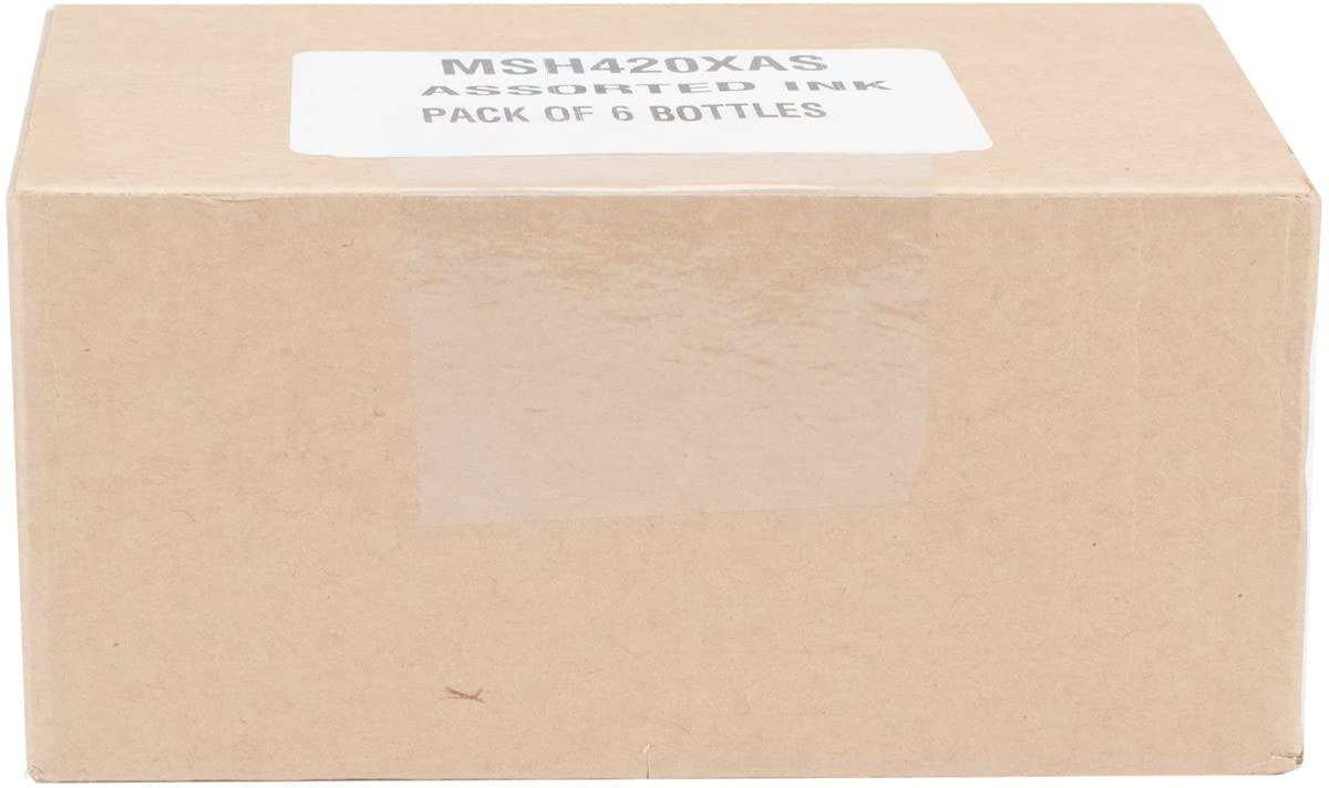 Manuscript Pen MSH420XAS Manuscript Calligraphy Ink Assortment 6/Pkg