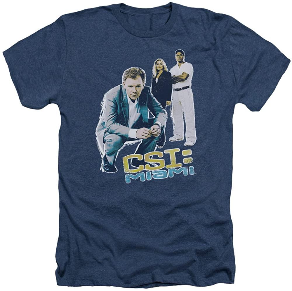 CSI Miami TV Show CBS Greeting from Miami Adult T-Shirt Tee