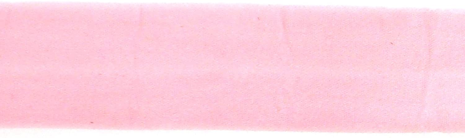 Trimweaver 7/8-Inch Fold Over Elastic for Craft, 5-Yard, Pink